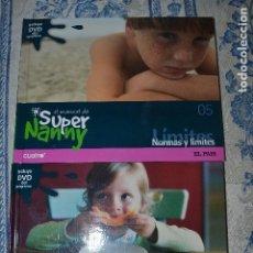 Libros de segunda mano: EL MANUAL DE SUPER NANNY - VOLUMEN 1 Y 5 - LIBRO + DVD. Lote 81166252