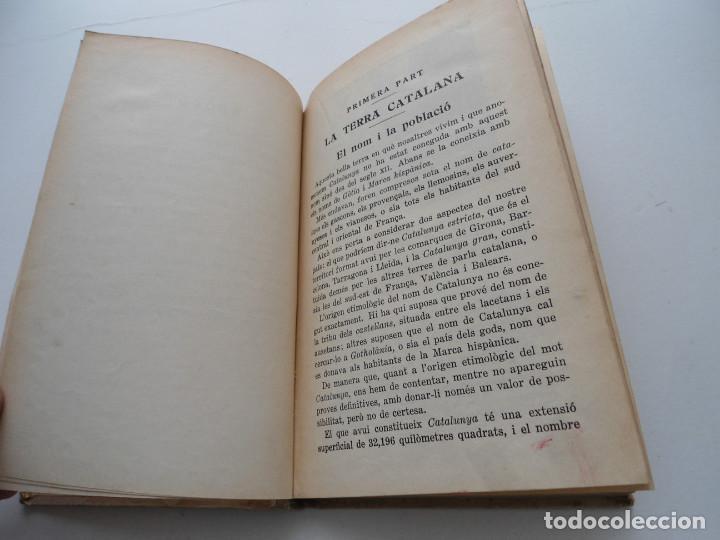 Libros de segunda mano: LA TERRA CATALANA - JOAQUIM PLA CARGOL - Ed. DALMAU CARLES PLA - 1937 - PLENA GUERRA CIVIL - Foto 6 - 81612792