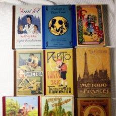 Libros de segunda mano: 9 FACSIMILES CALLEJA, DALMAU, HIJOS SANTIAGO RODRIGUEZ, ELZEVIRIANA, MAGISTERIO ESPAÑOL, LUIS VIVES,. Lote 81953056