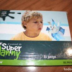 Libros de segunda mano: SUPER NANNY.LIBRO + DVD.Nº 9.EL JUEGO.TIEMPO DE CALIDAD.EL PAIS.CUATRO.2007.NIÑOS.SUPERNANY. Lote 82119780