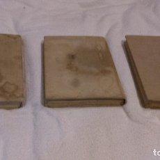 Libros de segunda mano: ANTÓN MAKARENKO, POEMA PEDAGÓGICO 3 VOLS, EDITORIAL PROGRESO SIN FECHAR APROX AÑOS 50-60.. Lote 82215096