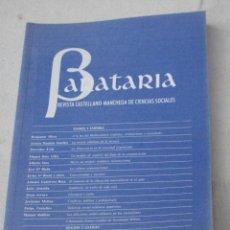 Libros de segunda mano: BARATARIA - REVISTA CASTELLANO - MANCHEGA DE CIENCIAS SOCIALES - NUMS. 2 Y 3 -ENERO 2000.. Lote 82234712
