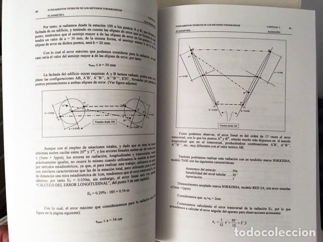 Libros de segunda mano: Fundamentos teóricos de los métodos topográficos. (Geodesia y Topografía) (Agrimensura) - Foto 2 - 82365076