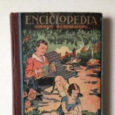 Libros de segunda mano: ENCICLOPEDIA GRADO ELEMENTAL - 1943 - DALMAU CARLES PLA S.A.. Lote 82832588
