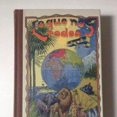 Libros de segunda mano: LO QUE NOS RODEA. M. MARINEL-LO. IMPRENTA ELZEVIRIANA 1935 - (FACSIMIL DE 2007). Lote 85466564