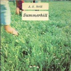 Libros de segunda mano: SUMMERHILL. Lote 90813590