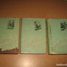 Libros de segunda mano: 3 LIBROS POEMA PEDAGOGICO , MAKARENKO AÑOS 50. Lote 91757655