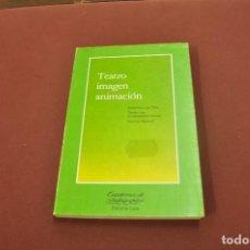 Livres d'occasion: TEATRO IMAGEN ANIMACIÓN - CUADERNOS DE PEDAGOGÍA - PE5. Lote 91994550
