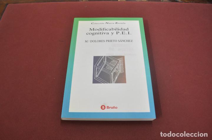 MODIFICABILIDAD COGNITIVA Y PEI - DOLORES PRIETO SÁNCHEZ - PE5 (Libros de Segunda Mano - Ciencias, Manuales y Oficios - Pedagogía)