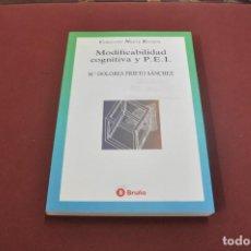Gebrauchte Bücher - modificabilidad cognitiva y PEI - dolores prieto sánchez - PE5 - 104792766