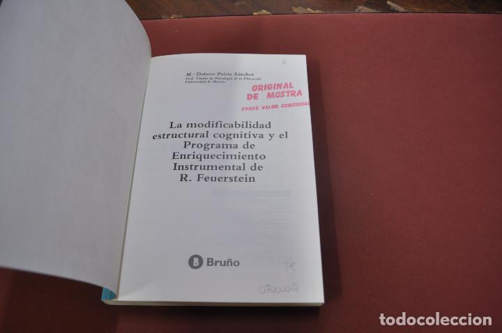 Libros de segunda mano: modificabilidad cognitiva y PEI - dolores prieto sánchez - PE5 - Foto 2 - 104792766
