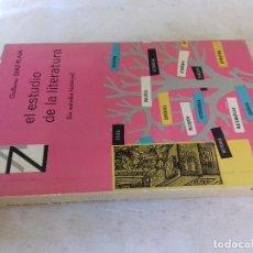 Libros de segunda mano: EL ESTUDIO DE LA LITERATURA-GUILLERMO DIAZ-PLAJA-LOS METODOS HISTORICOS-SAYMPRIMERA EDICION 1963. Lote 94051360