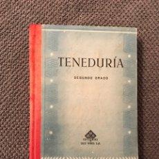 Libros de segunda mano: TENEDURIA DE LIBROS. POR PARTIDA DOBLE, SEGUNDO (A.1941). Lote 95622108