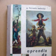 Libros de segunda mano: LIBRO APRENDIZ DE HOMBRE - GONZALO TORRENTE BALLESTER - EDITORIAL DONCEL. Lote 115493596