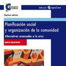 Libros de segunda mano - Planificación social y organización de la com · MARCHIONI, MARCO - 98384975