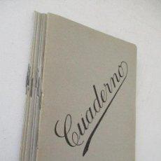 Libros de segunda mano: LOTE DE 10 CUADERNOS(LIBRETAS) 15X1.3 CM.-S/F.- . Lote 99539567
