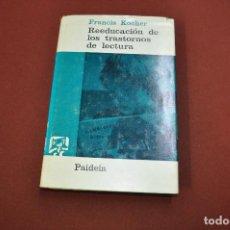 Libros de segunda mano - reeducación de los trastornos de lectura - francis kocher - paideia - PE6 - 100129639