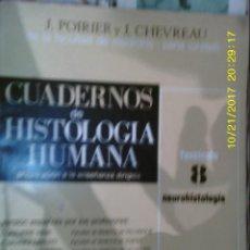 Libros de segunda mano: LIBRO Nº 974 CUADERNOS DE HISTOLOGIA HUMANA PREPARACION A LA ENSEÑANZA DIRIGIDA. Lote 101161591