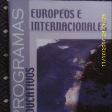 Libros de segunda mano: LIBRO Nº 1308 EUROPEOS E INTERNACIONALES DE CSIF. Lote 104298127
