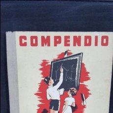 Libros de segunda mano: COMPENDIO DE GEOMETRIA. I.G SEIX BARRAL HNOS 1948. AGUSTIN BALLVE. VER FOTOS. Lote 107998131