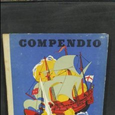 Libros de segunda mano: COMPENDIO DE HISTORIA UNIVERSAL. I.G SEIX BARRAL HNOS 1951. ALBERTO LLANO. SEGUNDA PARTE. VER FOTOS. Lote 171513640