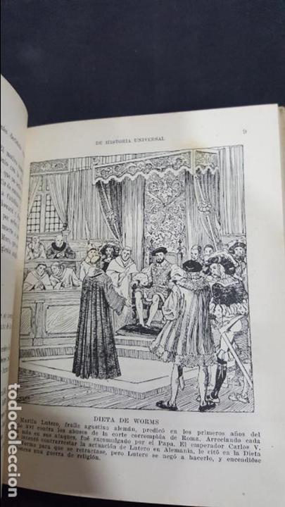 Libros de segunda mano: COMPENDIO DE HISTORIA UNIVERSAL. I.G SEIX BARRAL HNOS 1951. ALBERTO LLANO. SEGUNDA PARTE. VER FOTOS - Foto 3 - 171513640