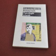 Libros de segunda mano - psicología infantil - osterrieth - ediciones morata - PE1 - 88856172