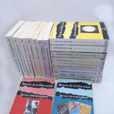 Libros de segunda mano: HISTORIA DE LA EDUCACIÓN REVISTA INTERUNIVERSITARIA NºS 2 A 21, A FALTA DEL 3 (VVAA) 1983. Lote 110270822