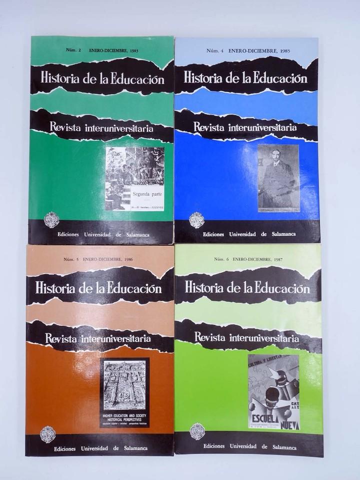 Libros de segunda mano: HISTORIA DE LA EDUCACIÓN REVISTA INTERUNIVERSITARIA NºS 2 A 21, A FALTA DEL 3 (Vvaa) 1983 - Foto 2 - 110270822