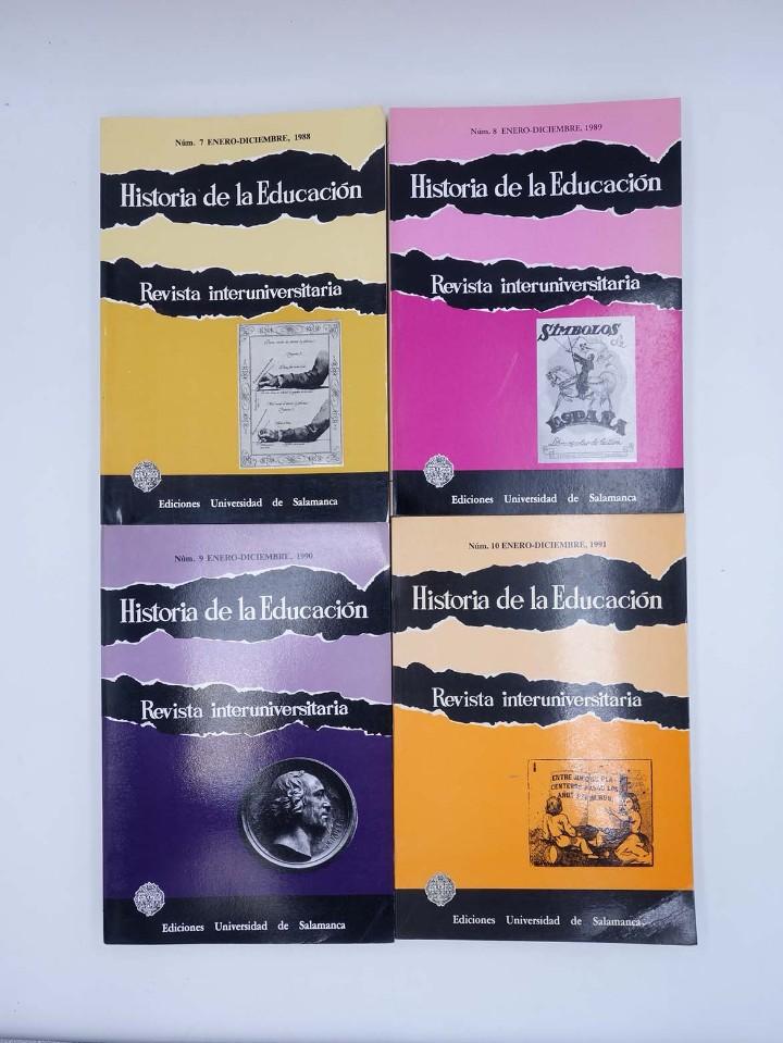 Libros de segunda mano: HISTORIA DE LA EDUCACIÓN REVISTA INTERUNIVERSITARIA NºS 2 A 21, A FALTA DEL 3 (Vvaa) 1983 - Foto 3 - 110270822