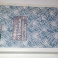 Libros de segunda mano: PEDAGOGÍA DE LA DIVERSIDAD-ROSARIO ARÁNZAZU JIMÉNEZ FRÍAS; TERESA AGUADO ODINA-UNED 2007. Lote 113204399