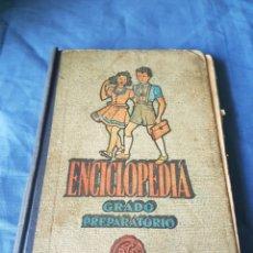 Libros de segunda mano: LIBRO ESCUELA ENCICLOPEDIA GRADO PREPARATORIO 1953. Lote 113383076