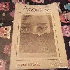 Libros de segunda mano: TOMO ALGARIA 0 APUNTES LITERARIOS JUNIO 84 POSIBLE RECOGIDA EN MALLORCA. Lote 117240635