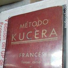 Libros de segunda mano - Metodo Kucera.Frances.Tercer curso. - 117301975