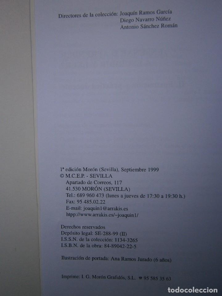 Libros de segunda mano: ENSEÑAR O APRENDER A ESCRIBIR Y LEER Francisco Carvajal Perez 1 Edicion 1999 - Foto 7 - 117711271