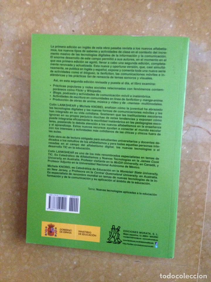 Libros de segunda mano: Nuevos alfabetismos. Su práctica cotidiana y el aprendizaje en el aula (C. Lankshear, M. Knobel) - Foto 7 - 117914471