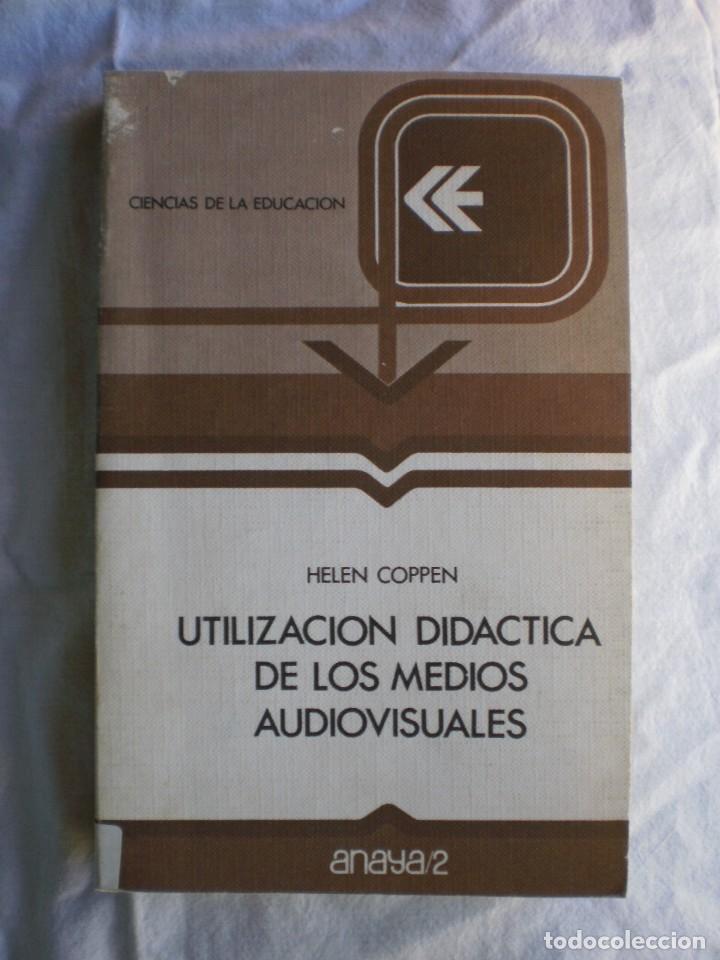 UTILIZACION DIDACTICA DE LOS MEDIOS AUDIOVISUALES (Libros de Segunda Mano - Ciencias, Manuales y Oficios - Pedagogía)