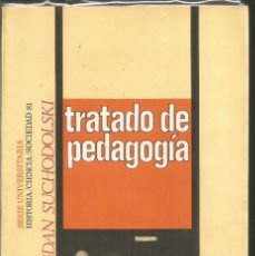 Libros de segunda mano: BOGDA SUCHODOLSKI. TRATADO DE PEDAGOGIA. PENINSULA. Lote 118640187