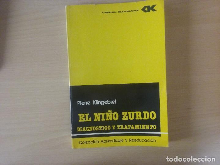 EL NIÑO ZURDO. DIAGNOSTICO Y TRATAMIENTO. PIERRE KLINGEBIEL (Libros de Segunda Mano - Ciencias, Manuales y Oficios - Pedagogía)