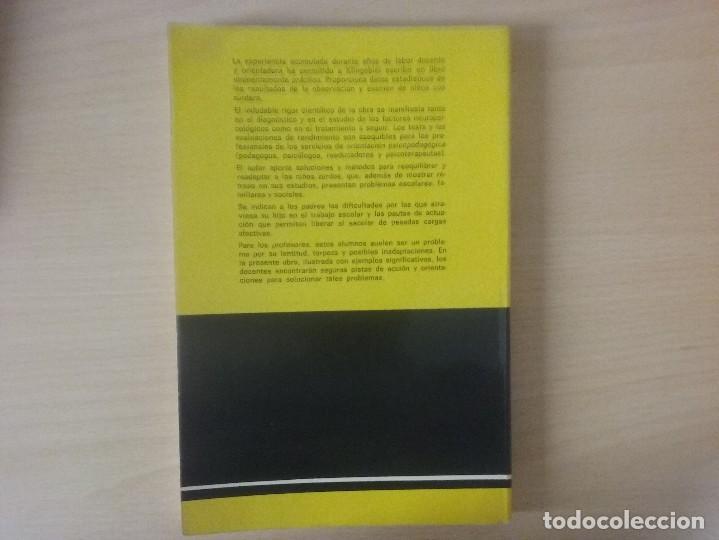Libros de segunda mano: EL NIÑO ZURDO. DIAGNOSTICO Y TRATAMIENTO. PIERRE KLINGEBIEL - Foto 8 - 120290039