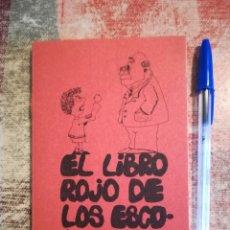 Libros de segunda mano: EL LIBRO ROJO DE LOS ESCOLARES - EDICIONES UTOPÍA. Lote 120669771