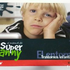 Libros de segunda mano: EL MANUAL DE SUPER NANNY TRASTORNOS INFANTILES VOLUMEN 14 LIBRO + DVD SERIE TV. Lote 120864319