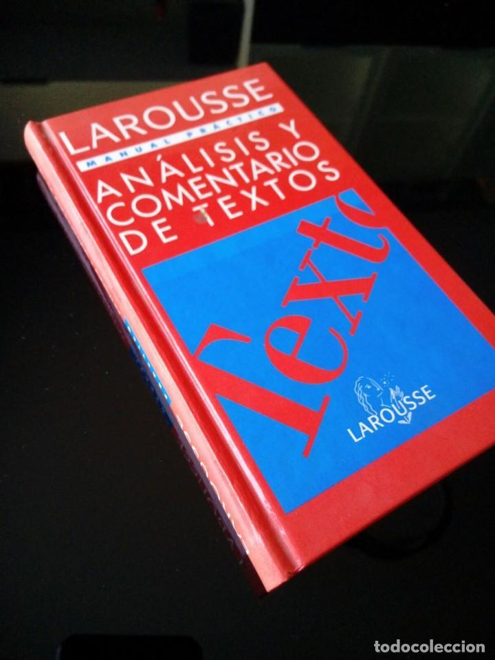 ANALISIS Y COMENTARIOS DE TEXTOS. LAROUSSE. MANUAL PRACTICO. 1995 (Libros de Segunda Mano - Ciencias, Manuales y Oficios - Pedagogía)