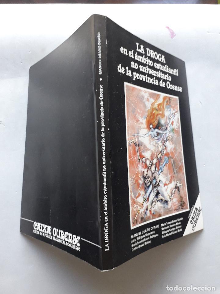 Libros de segunda mano: La Droga en el ámbito estudiantil no universitario de la provincia de Orense. - Foto 7 - 121223591