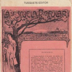 Libros de segunda mano: LAS ESCUELAS RACIONALISTAS EN CATALUÑA (1909-1939). PERE SOLÀ. Lote 126188295