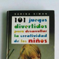 Libros de segunda mano: 101 JUEGOS DIVERTIDOS PARA DESARROLLAR LA CREATIVIDAD DE LOS ÑIÑOS. Lote 128086902