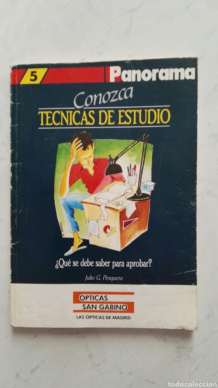 CONOZCA TÉCNICAS DE ESTUDIO (Libros de Segunda Mano - Ciencias, Manuales y Oficios - Pedagogía)