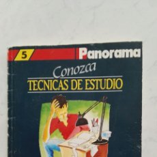 Libros de segunda mano: CONOZCA TÉCNICAS DE ESTUDIO. Lote 128496476