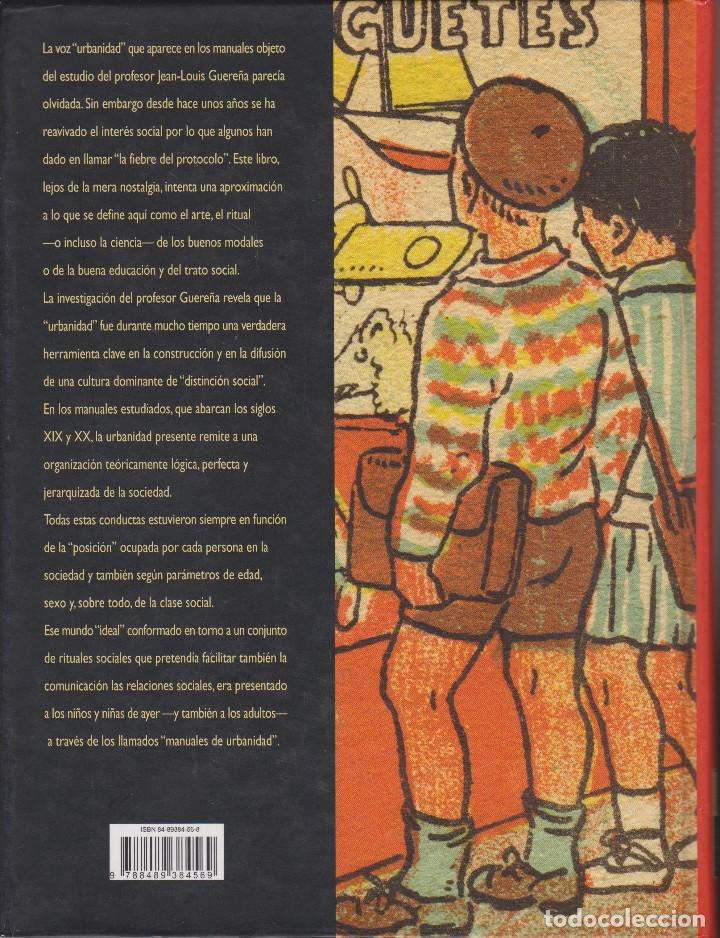Libros de segunda mano: EL ALFABETO DE LAS BUENAS MANERAS. JEAN-LOUIS GUEREÑA - Foto 2 - 128724227