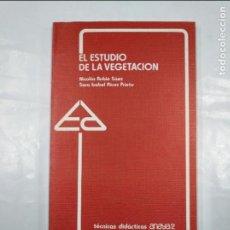 Libros de segunda mano: EL ESTUDIO DE LA VEGETACION. - NICOLAS RUBIO SAEZ - TECNICAS DIDACTICAS ANAYA Nº 2. TDK350. Lote 128858815